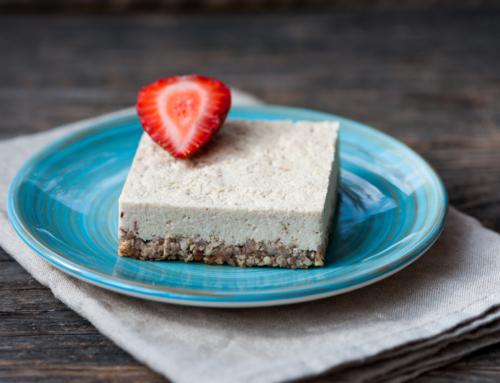 I am Cherished – Cashew Lemon Cheesecake